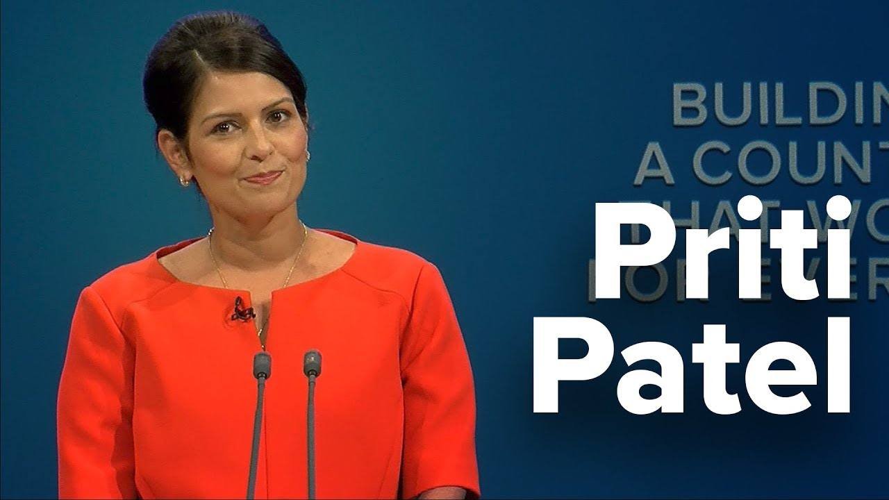 Priti Patel: Speech to Conservative Party Conference 2017 ...