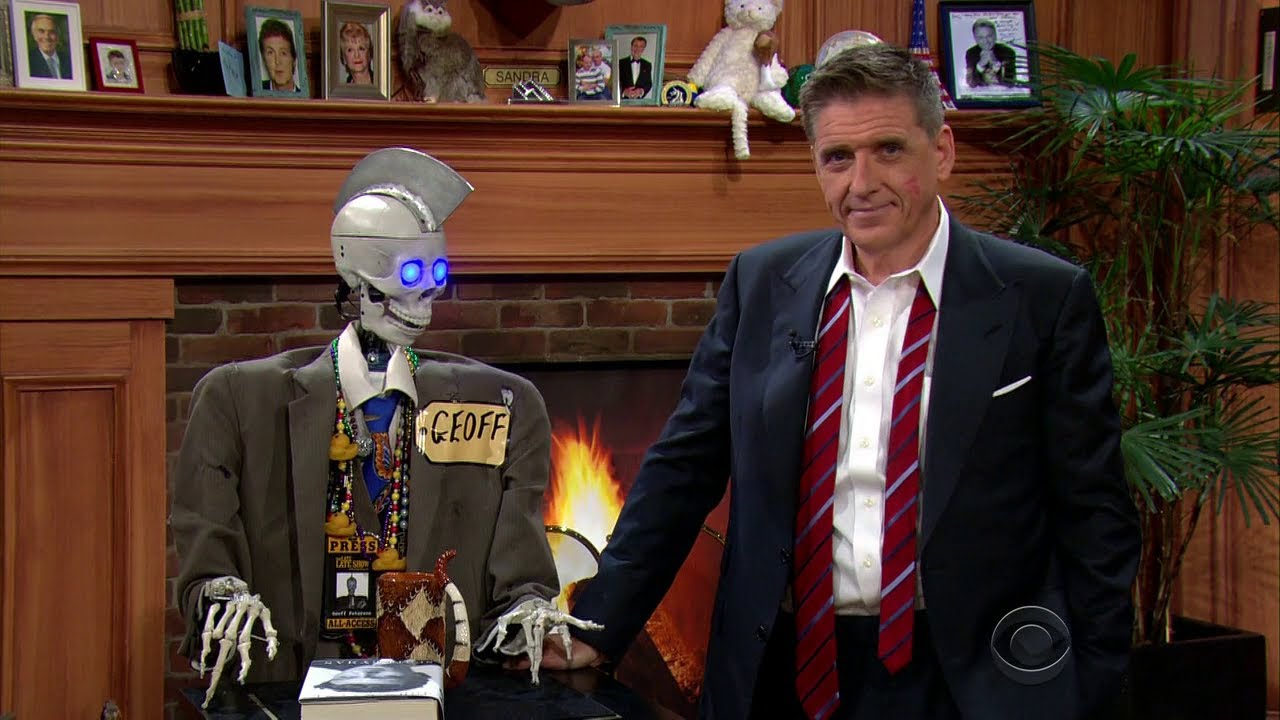 Late Late Show With Craig Ferguson 9/2/2014 Carrot Top, Gwendoline Christie