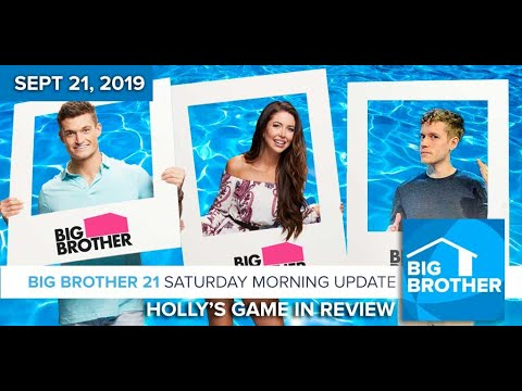 Holly's Big Brother 21 Game in Review #BB21