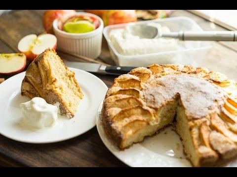 Простой и очень вкусный яблочный пирог