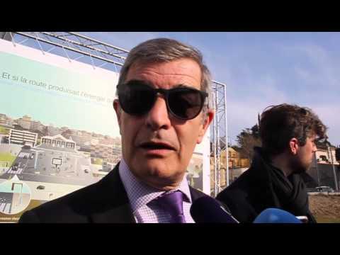 Le premier tronçon de route solaire est à Marseille