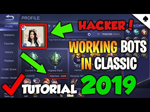 *NEW* [MOBILE LEGENDS] HOW TO MATCH UP WITH BOTS 2019!   BOT CLASSIC