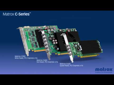 Matrox C-Series™ - Multi-Display Graphics Cards