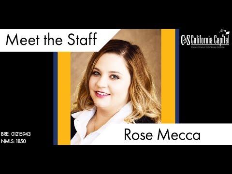 Meet the Team: Rose Mecca
