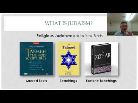Introduction to Judaism: Sacred Texts & God