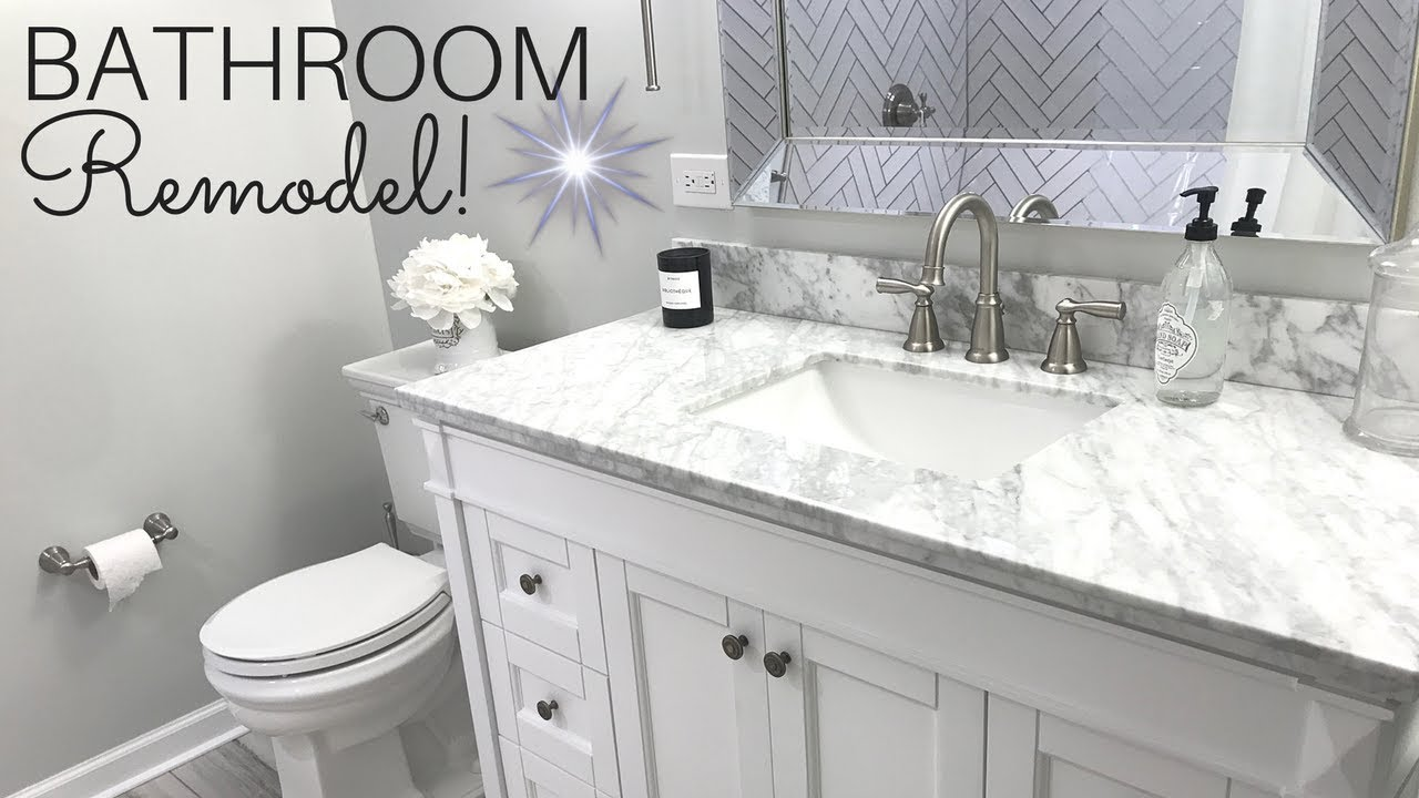 WE REMODELED OUR BATHROOMS  STUNNING NEW BATHROOMS