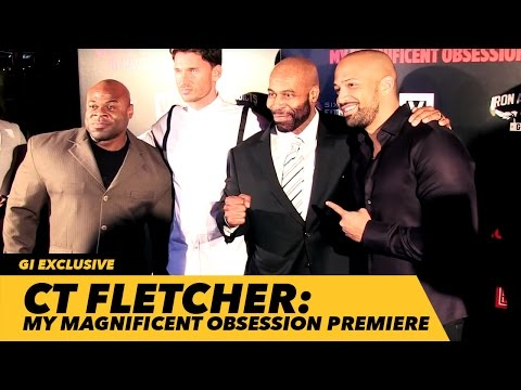CT Fletcher: My Magnificent Obsession Red Carpet Premiere | Generation Iron