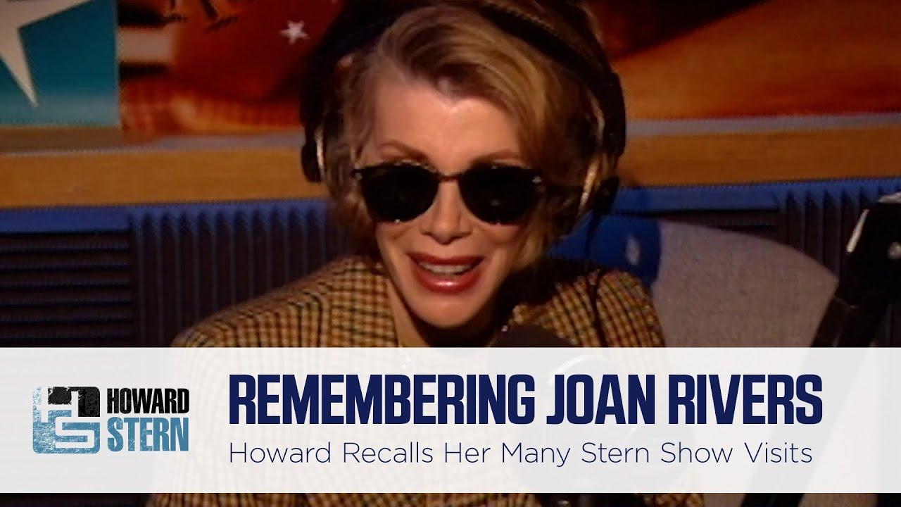 Howard Stern Shares Memories of Joan Rivers