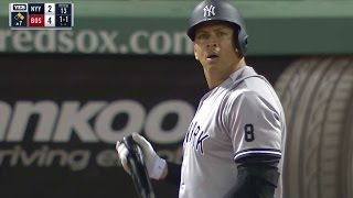 NYY@BOS: A-Rod comes in to pinch-hit at Fenway