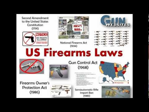What are? Existing U.S. Firearms Laws