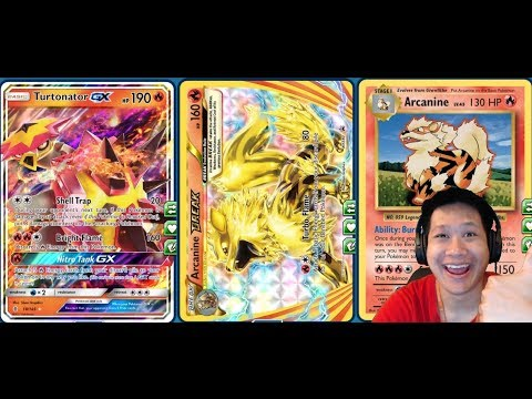 180+ DMG ARCANINE BREAK Deck, Now ONE Hit Kills With Choice