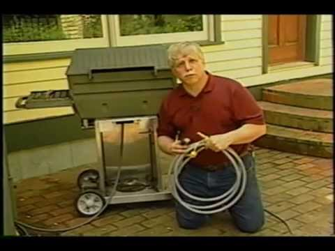 installing natural gas grill line