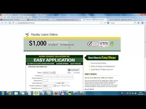 No Credit Check Online Payday Loans From Direct Lenders from YouTube · Duration:  50 seconds