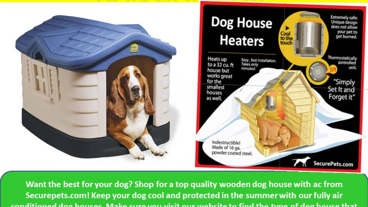 air conditioning dog house. shop for the best dog house with air conditioner at securepets.com conditioning i