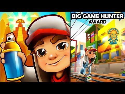 Subway Surfers - Big Game Hunter Award