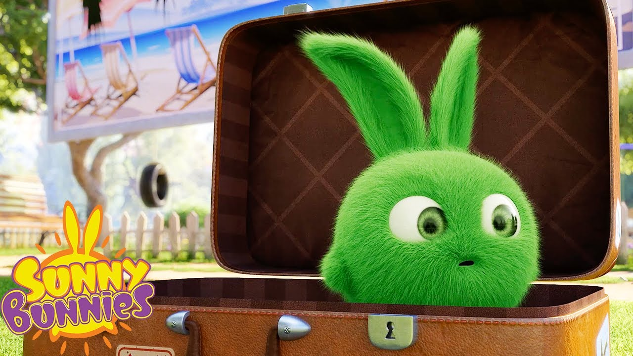 SUNNY BUNNIES - Time for a Vacation | Season 3 | Cartoons for Children