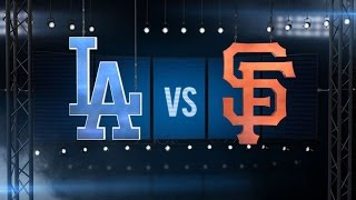 9/29/15: Dodgers blank rival Giants to clinch NL West