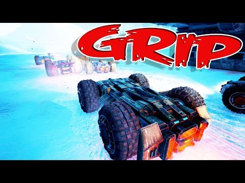 IS THIS THE FUTURE OF RACING?! - Grip Gameplay, Racing, and Crashing!