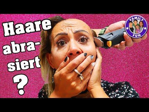 HEIMLICH HAARE ABRASIERT? | HILFE! GLATZE?  Vlog #160 Our life FAMILY FUN