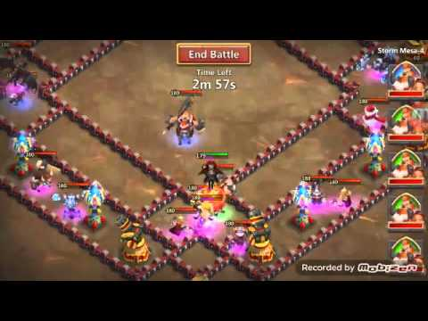 A Stone Skin 7/8 10/10 Vlad In Action! Castle Clash