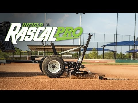 Infield Rascal Pro - Infield Groomer By ABI Sports Turf