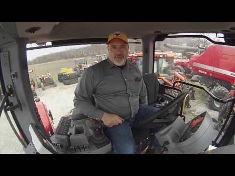 Operating a new Versatile Tractor - A look at all the controls