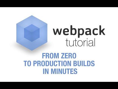 Webpack Tutorial - Replace Gulp/Grunt plugins with a single tool