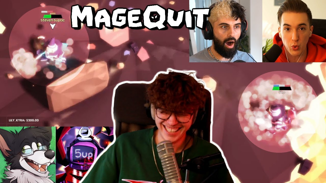 """""""HOW ARE YOU STILL ALIVE?"""" - MAGEQUIT (Steve, Ellum, Koj, DumbDog, 5up and Aipha)"""
