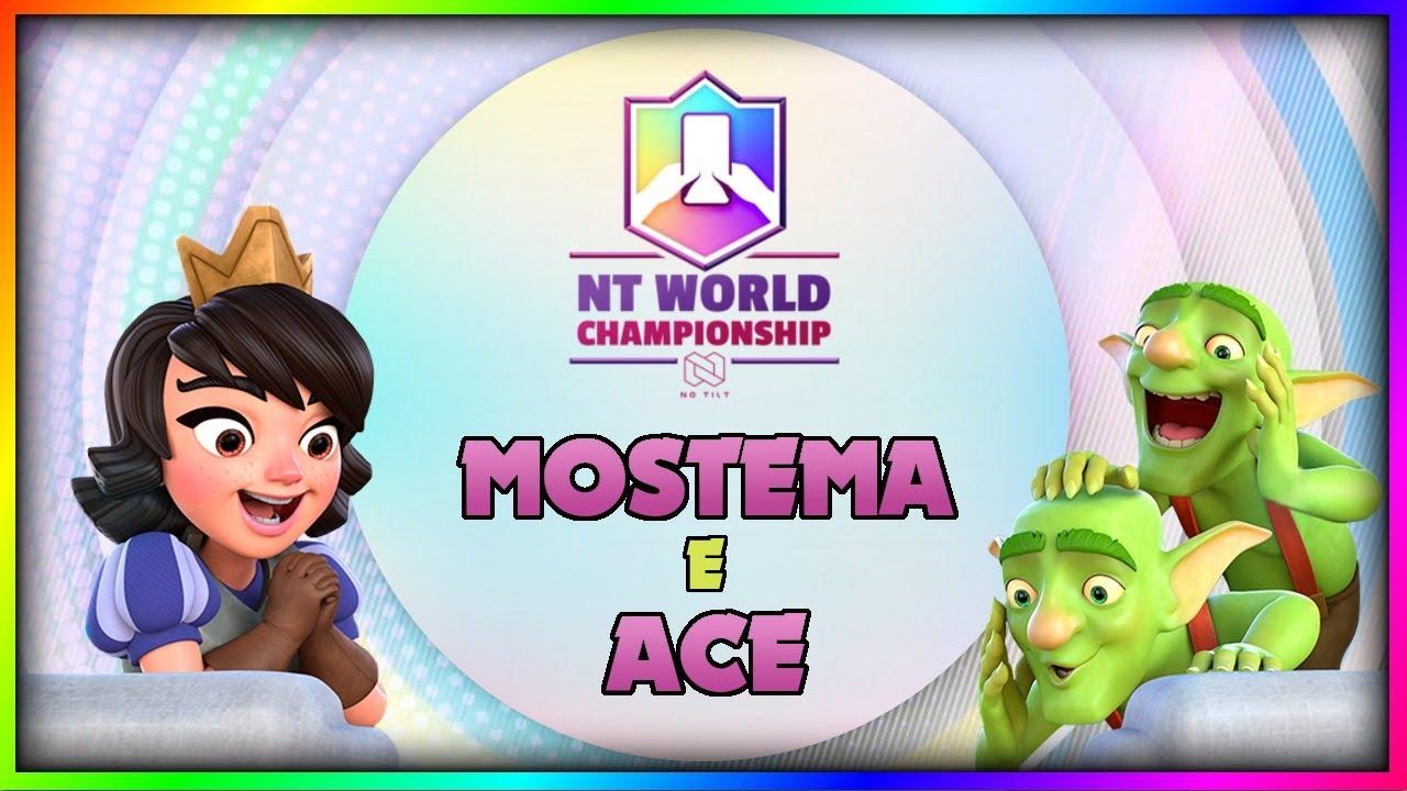 20 WIN CHALLENGE con ACE e MOSTEMA! | Clash Royale ITA