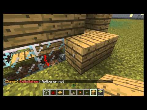 Minecraft - How to make a redstone generator