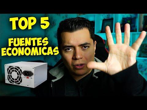 Top 5 Fuentes de Poder Económicas - Proto Hw & Tec