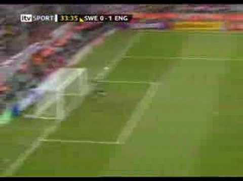 Joe Cole v Sweden world cup 2006 best goal of the WC!