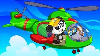 Мультики Про Машинки Для Детей - Сборник Мультфильмов - Гоночный Скутер и Другие Машинки