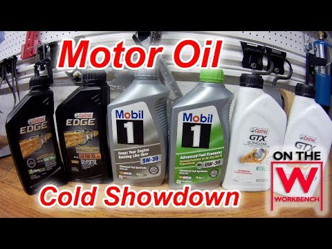 Motor Oil Testing - Cold  (Part 1 of 2)