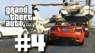 Grand Theft Auto 5 Gameplay Walkthrough Part 4