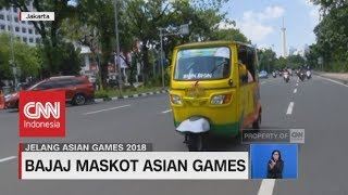 Inilah Bajaj Maskot Asian Games 2018