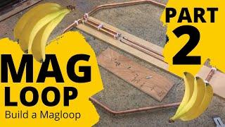 HAM RADIO: Building a magnetic loop antenna Part 2...