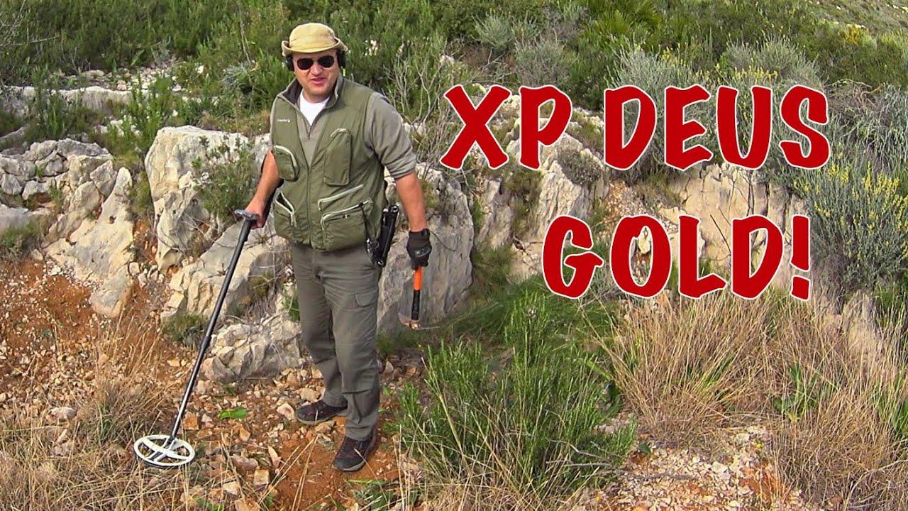 Xp Deus. La fiebre del oro.  Поиск золота.