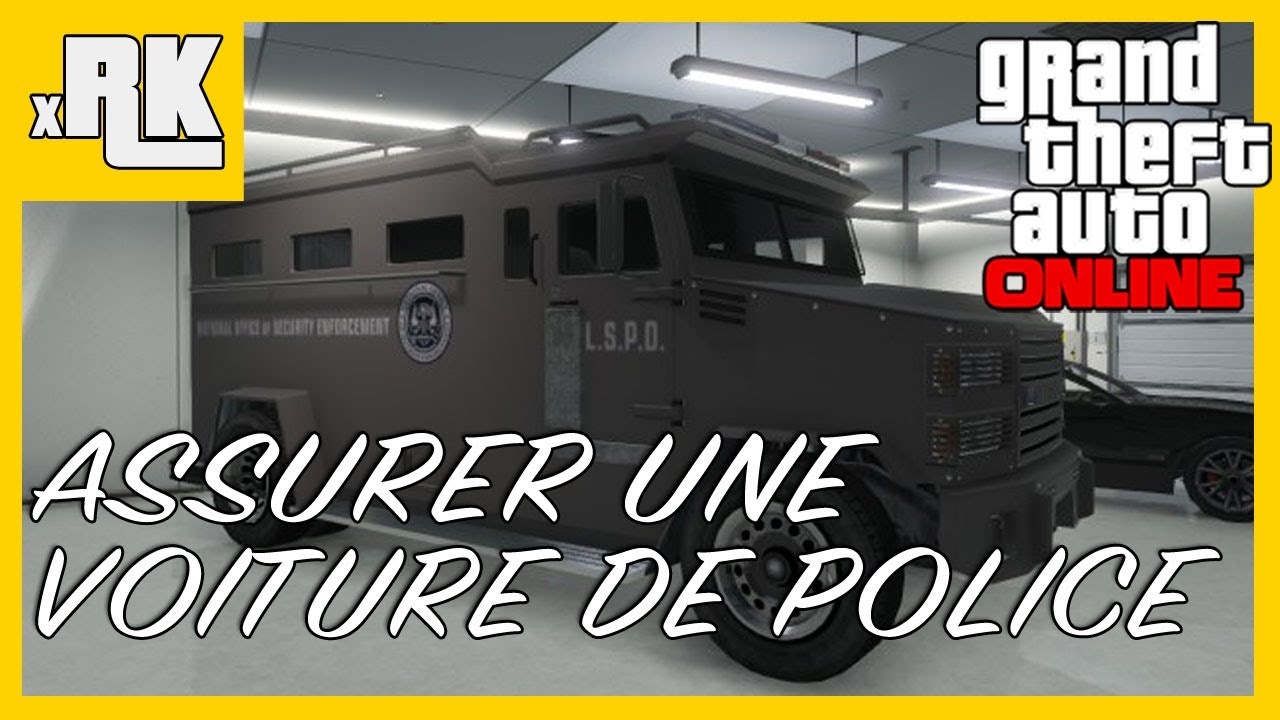 gta online comment assurer un v hicule de police tutoriel ps3 hd fran ais xrk youtube. Black Bedroom Furniture Sets. Home Design Ideas