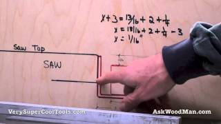 In this video I cover the important dimensions to take into consideration when building your own Biesemeyer guide rail system using SAE angle iron and steel ...