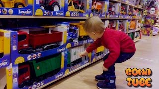 VLOG Прогулка в SKYMAIL Киев, шопинг в детском магазине Shopping in kid's toys store