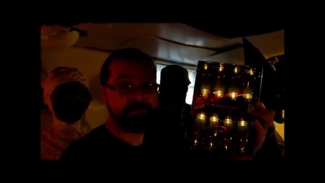 big lots halloween flickering light bulbs - youtube