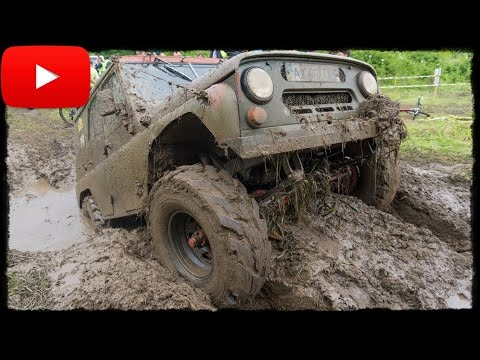► УАЗ отжог на RFC Ukraine 2016 [Off-Road 4x4]