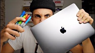 Custom MacBook!! 💻 🎨 (Giveaway Winner) | MARKO