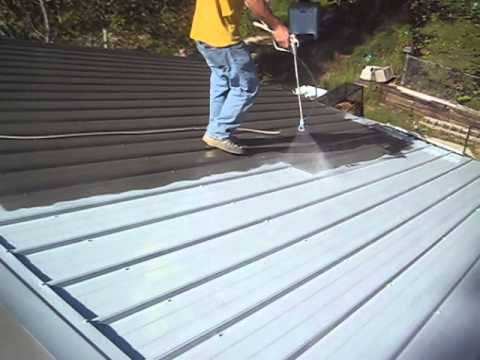 Metal Roof Restoration Alabama Wmv Youtube