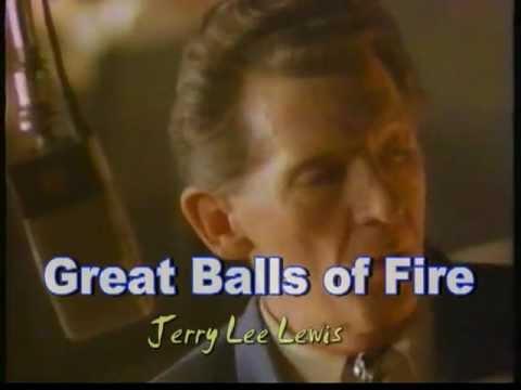 Jerry Lee Lewis - Great Balls of Fire - HD HQ Extended Music Video