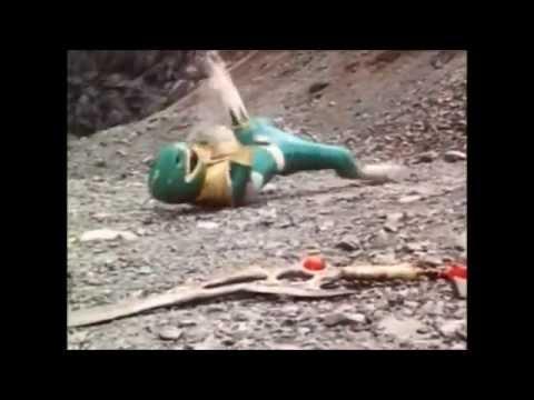 Mighty Morhpin/ Zyuranger Red Ranger vs Green Ranger (PR and Sentai version)