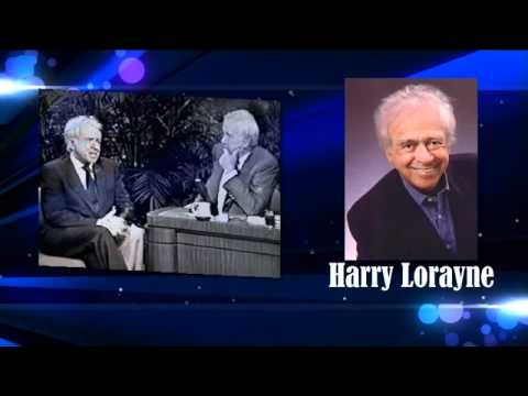 Harry Lorayne - The Secret of Having a Good Memory - interview - Goldstein on Gelt - Dec. 2010