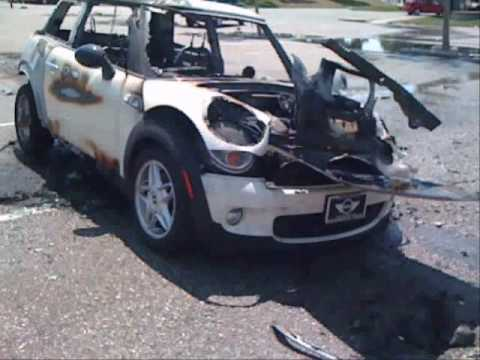 2007 MINI Cooper S Spontaneously Caught Fire