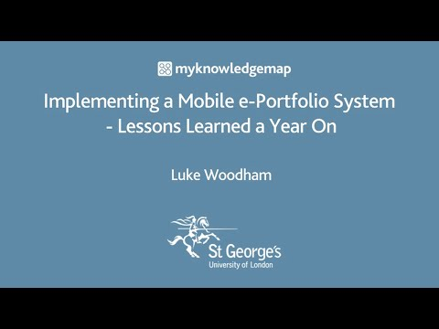 Implementing a Mobile e-Portfolio System: Lessons Learned a Year On